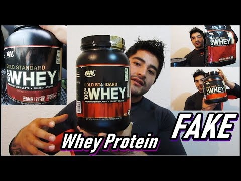 gold-standard-original-vs-fake-😭-(no-era-proteina-😢)-|-optimum-nutrition-|-100%-whey-gold-standard