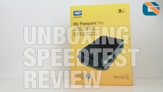 Western Digital My Passport Pro Thunderbolt Portable Hard Drive - Unboxing Speed Test & Review in 4K
