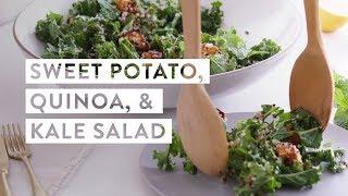 Sweet Potato, Quinoa, and Kale Salad Recipe | goop