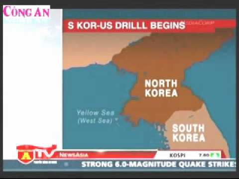 Mĩ và Hàn Quốc tập trận chung