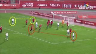 Análisis Gol José Enrique. RCD Mallorca 2 - Real Zaragoza 2. 2ª División - Liga123 16/17