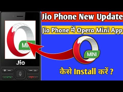 Jio Phone Me Opera Mini App Kaise Install Kare | How To Install Opera Mini App In Jio Phone