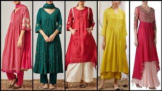 Top Class 40 Casual Cotton Long KurtiKurta Frocks Designs For Girls