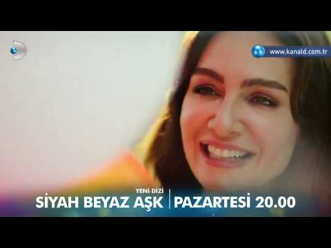 Siyah Beyaz Aşk (Черно-белая любовь) - тизер №3 [Kanal D] (DiziMania) RUS