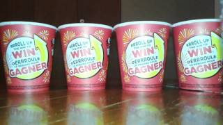 Tim Hortons roll up the rim to Win 2017 part 67