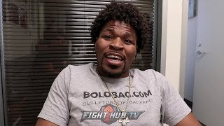 """SHAWN PORTER """"I REALLY DONT WANT TO FIGHT CRAWFORD BUT MAN IM GONNA HAVE TO FIGHT THIS GUY"""""""