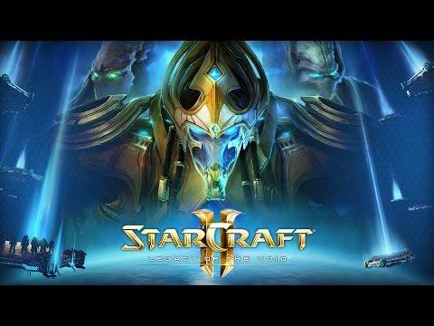 """Фильм """"Starcraft 2: Legacy Of The Void"""" (весь сюжет) [1080p, 60fps] [ИГРОФИЛЬМ]"""