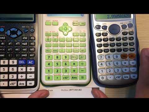 Mở Hộp, đánh Giá Nhanh Hiệu Năng Casio 580 VNX Với Casio , Vinacal 570