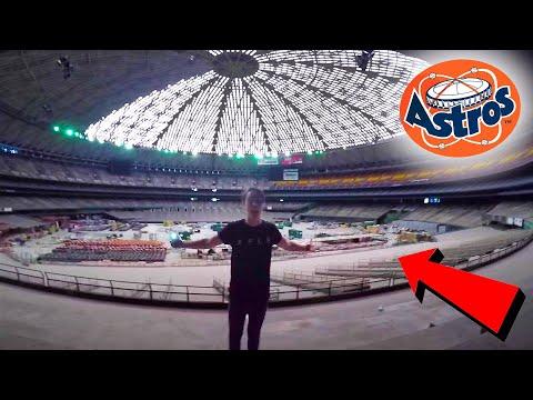 BREAKING INTO INDOOR STADIUM | (Worst Idea Yet) Sam and Colby