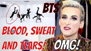 Dance Coach Reacts to BTS: 'BLOOD, SWEAT AND TEARS' Dance Practice