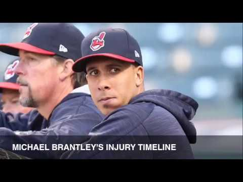 The injury timeline of Cleveland Indians LF Michael Brantley