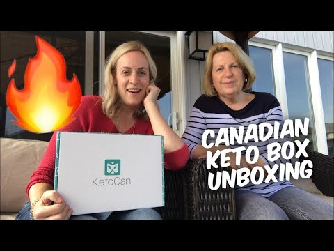 Canadian Keto Subscription Box Unboxing - KetoCan