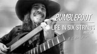 PART 1: RON 'BUMBLEFOOT' THAL CHATS ABOUT WHY HE CHOOSE TO PLAY A DOUBLE NECK FRETLESS GUITAR & MORE