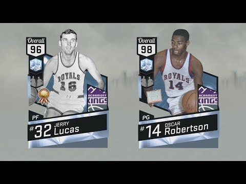 Dynamic Duo - Diamond Oscar Robertson / Diamond Jerry Lucas = NBA 2K17 MyTEAM