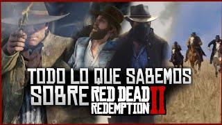 Red Dead Redemption 2 Informacion-TODO LO QUE SABEMOS OFICIALMENTE-Rdr 2 Español