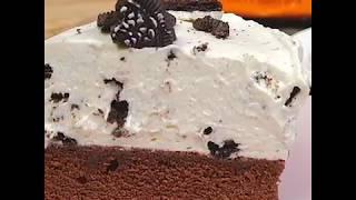 Легкий рецепт чизкейка с печеньем Орео | Чизкейк с шоколадным коржом