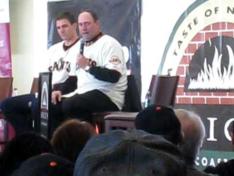 Will Clark Q&A at SF Giants FanFest