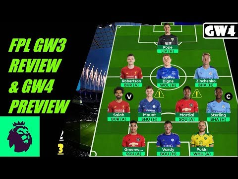 FPL GW3 REVIEW & GW4 PREVIEW | Greenwood to start? | Fantasy