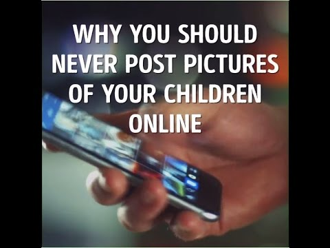 Why You Should Not Post You Child's Pictures On Social Media