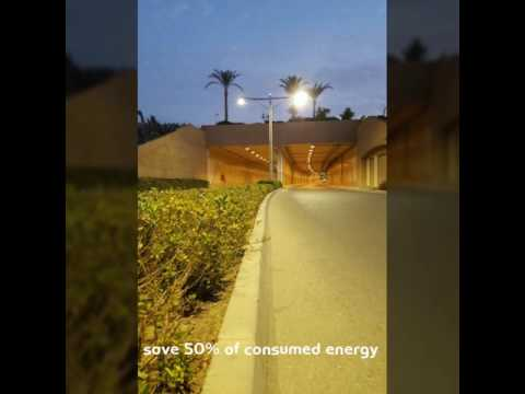 Smart Street Lighting System.. Cairo Festival City