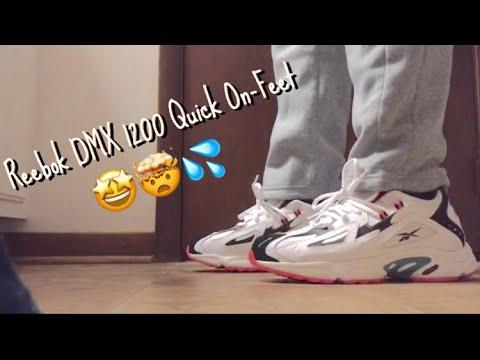 Reebok DMX 1200 On Feet - YouTube