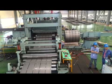 thick plate hot rolled steel coil slitting line