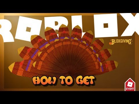 How To Get The Turkey Tail  Roblox Design It  BloxGiving 2017[EVENT]