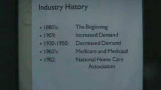 Home Health Care Presentation