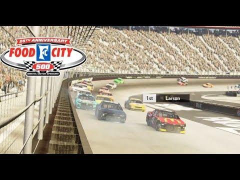 "[NASCAR Heat 3] PACK RACING?!?!? Race 8/36 ""Highlights"" @ Bristol |"