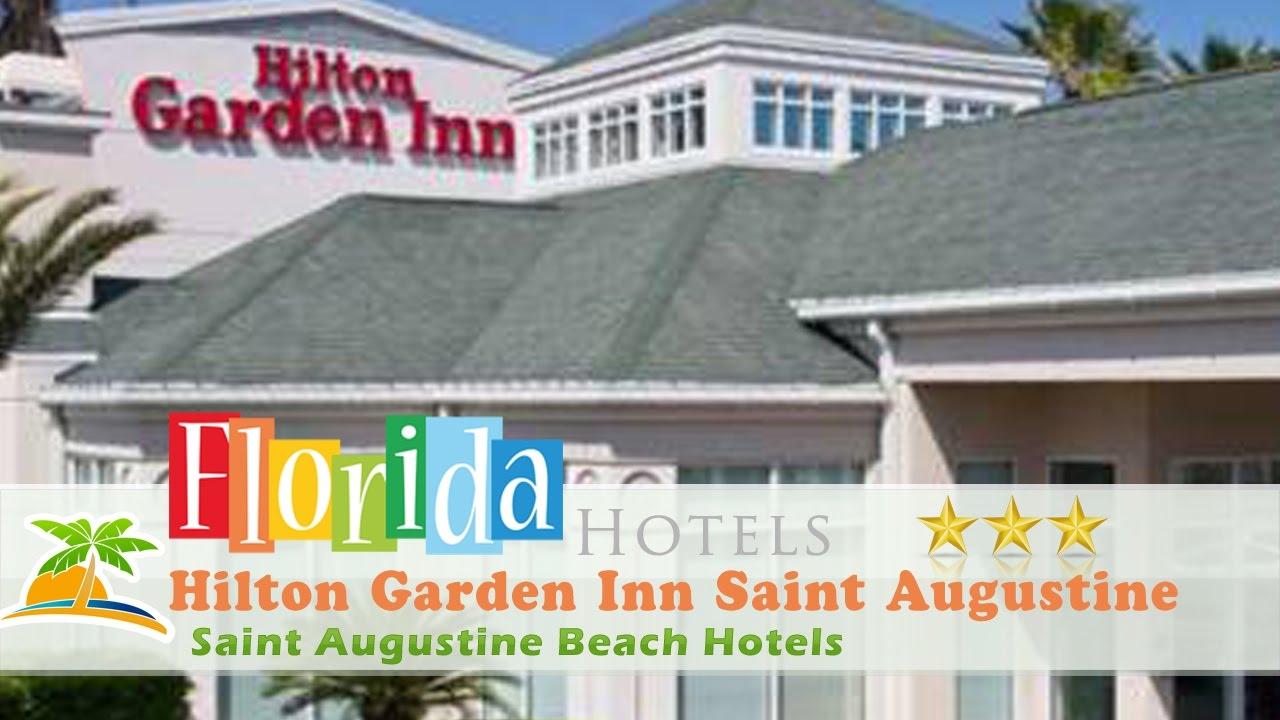 Hilton Garden Inn Saint Augustine Beach Saint Augustine Beach Hotels Florida Youtube