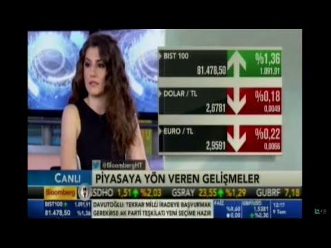 Forex Araştırma Uzmanı Eda Önder piyasaları değerlendiriyor .Bloomberg HT