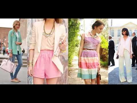 963d162120c4 Pastel Color Block Dress Spring Summer styling ideas - YouTube