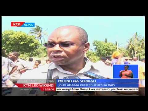 Gavana Joho na Amason Kingi wajipata matatani  baada ya kudaiwa kuingilia serikali ya Jubilee