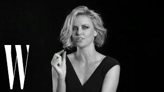 Lynn Hirschberg's Screen Tests: Charlize Theron