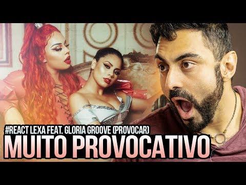 REAGINDO a Lexa feat Gloria Groove - Provocar