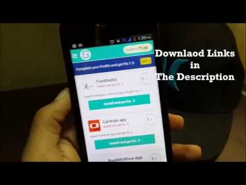 Get FREE Mobile Recharge with Ziptt App 2015