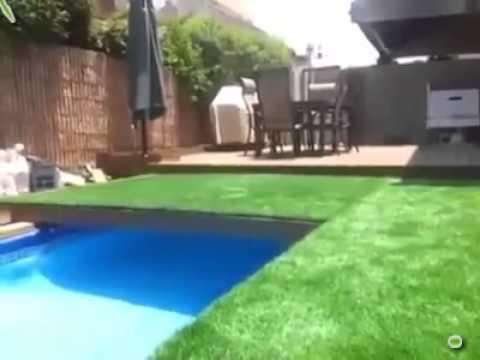 Amazing Underground Swimming Pool!! - YouTube