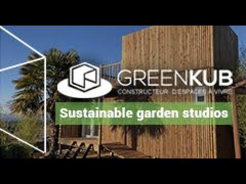GreenKub - Leading start-up in the construction of garden studios