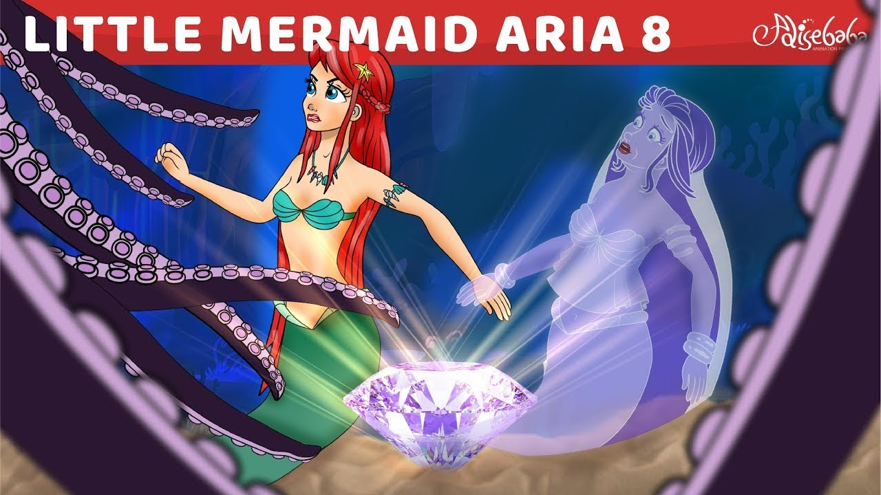 Little Mermaid Aria   Sea Witch Wega   Episode 8   नन्ही जलपरी अरिया