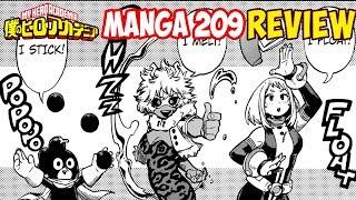 My Hero Academia Manga 209 - 5th Set Begins Review