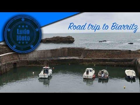 Road Trip to Biarritz  Wheels & Waves  MotoVLOG18