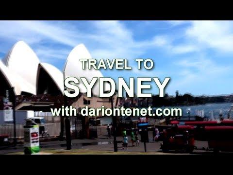 Travel to Sydney Australia Dec 2017 visit -  sites destinations  旅行