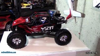 RC TRAIL AXIAL YETI XL UNBOXING AND REVIEW FROM RC BUTIKKEN NO
