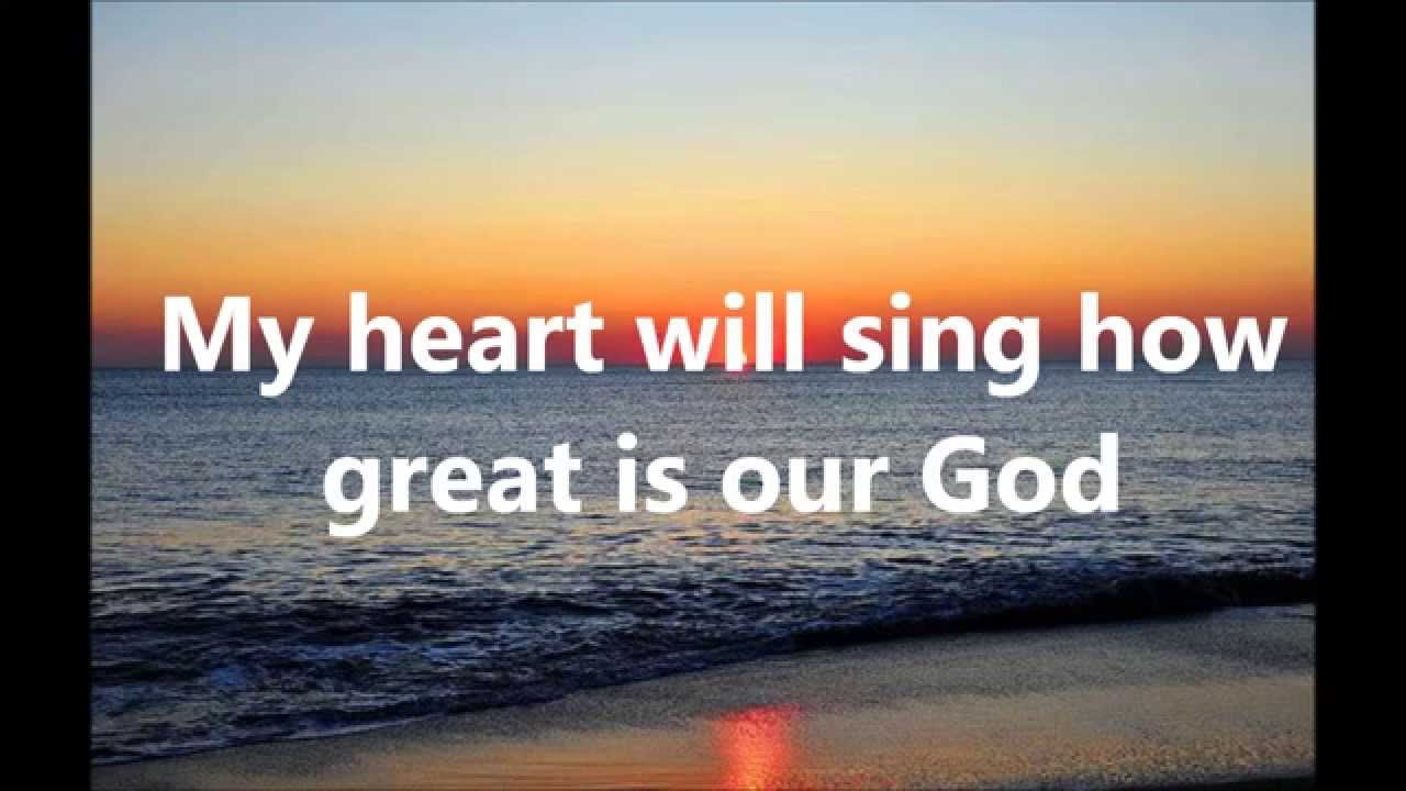 How great is our god lyrics hillsong