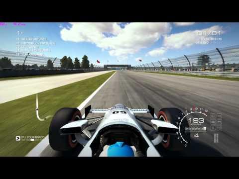 GRID Autosport - Dallara Indycar @ Indianapolis #Gamepad