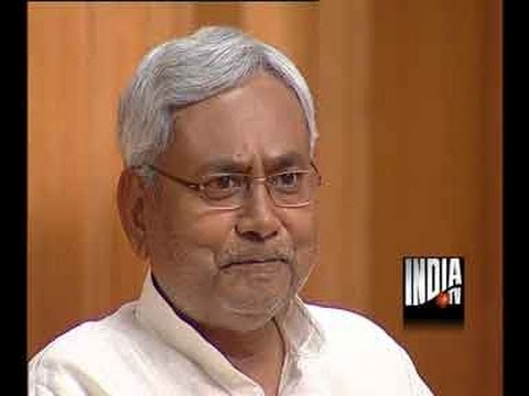 Bihar CM Nitish Kumar In Aap Ki Adalat (Part 5) - India TV