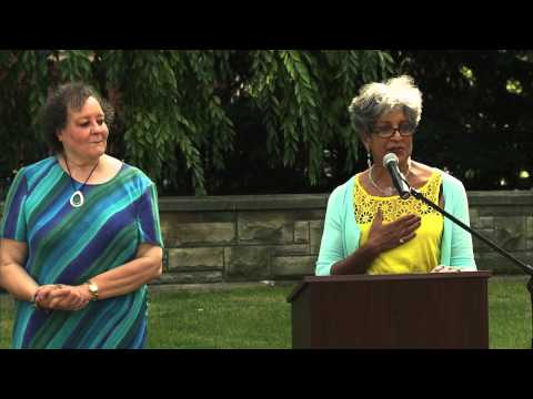 Helen Claytor Statue Unveiling at Grand Rapids Community College