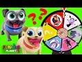 Vampirina & Puppy Dog Pals Toys Play Mega Spinning Wheel Game
