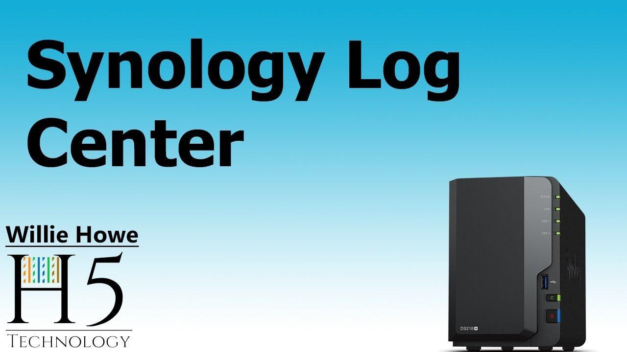 Synology Log Center