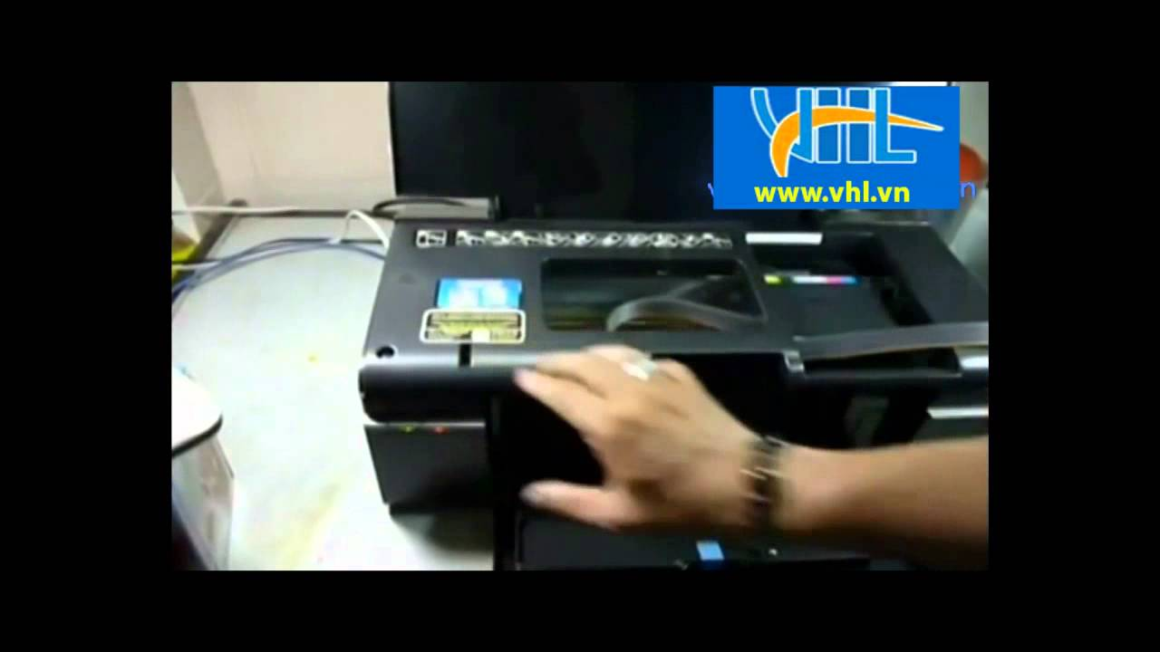 Hướng dẫn Reset máy in Epson T60 - YouTube